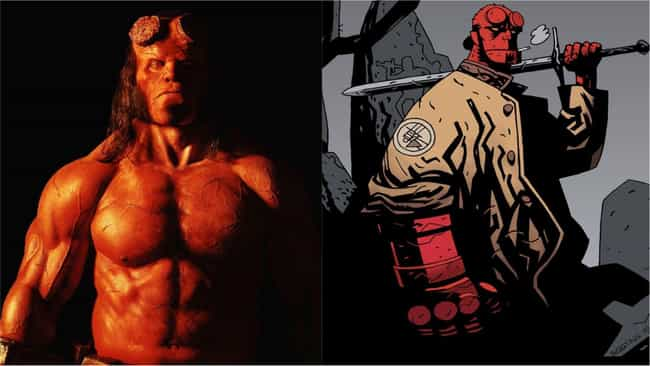 David Harbour is listed (or ranked) 2 on the list 'Hellboy' Actors Vs. The Comics Characters They're Playing