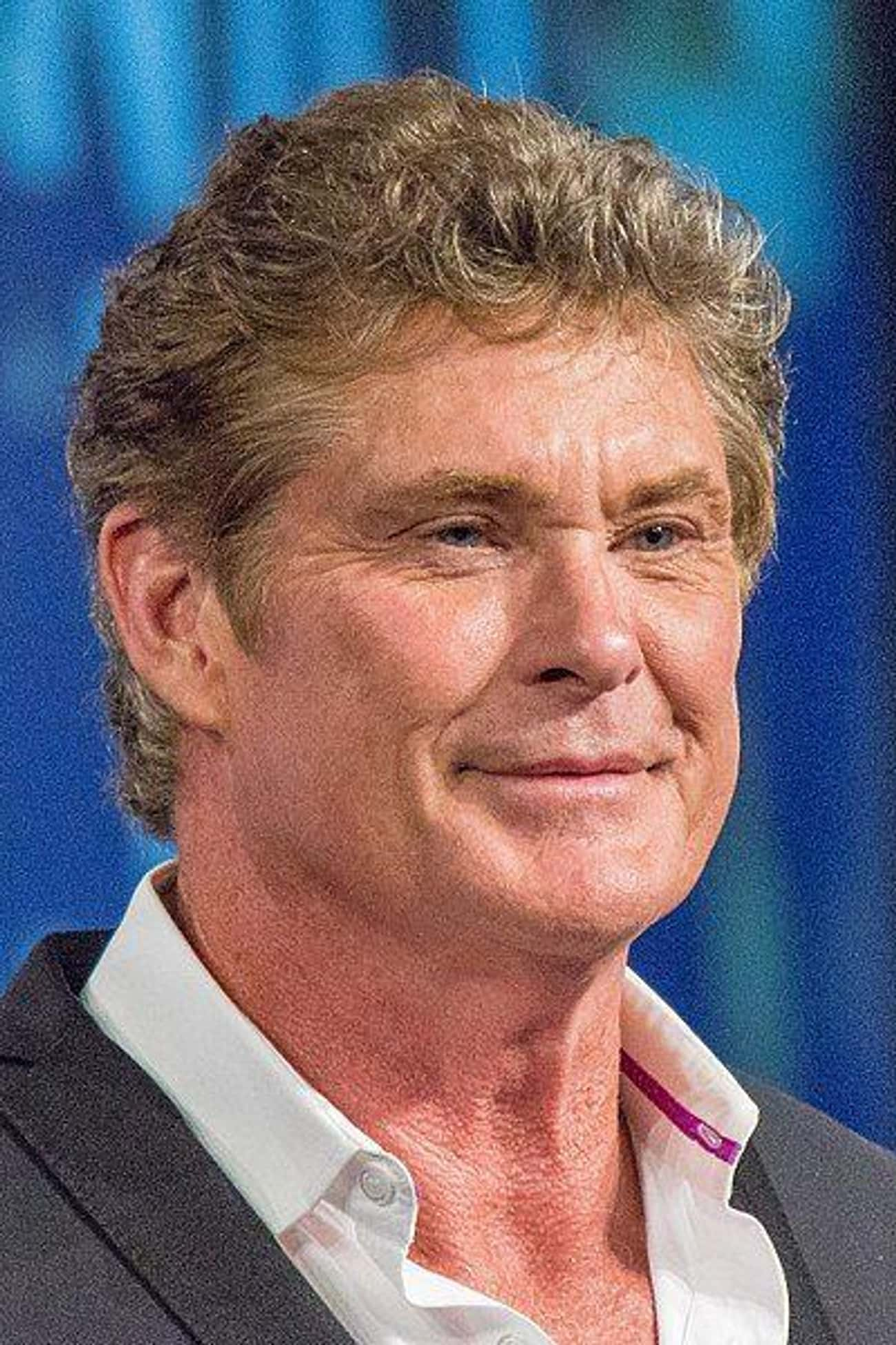 David Hasselhoff is listed (or ranked) 4 on the list Celebrities Who Went to Betty Ford Clinic Rehab