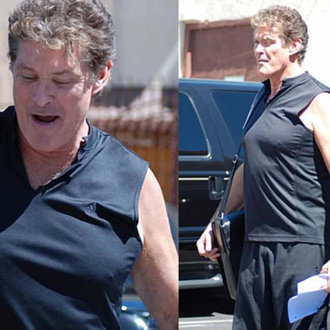 David Hasselhoff is listed (or ranked) 4 on the list The Greatest Celebrity Man Boobs