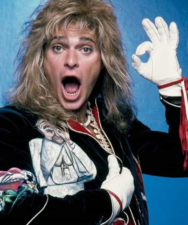 David Lee Roth is listed (or ranked) 2 on the list Tiger Blood.