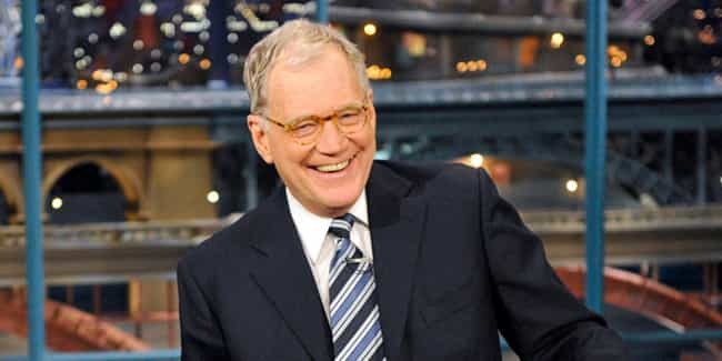 David Letterman is listed (or ranked) 3 on the list 30 of the Most Famous Recluses