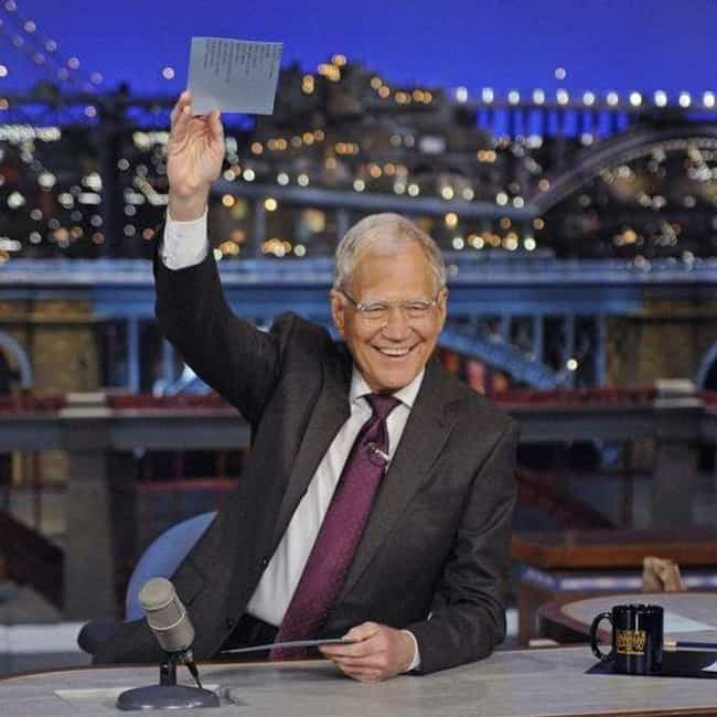 David Letterman is listed (or ranked) 3 on the list Famous People You Didn't Know Were Lutheran