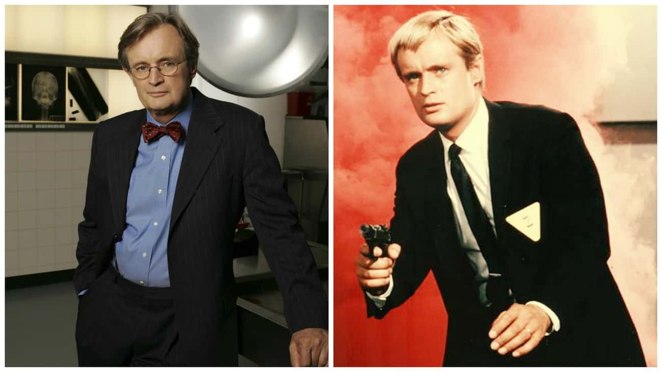 David McCallum - The Man from  is listed (or ranked) 4 on the list 21 Times You've Seen the NCIS Actors Before