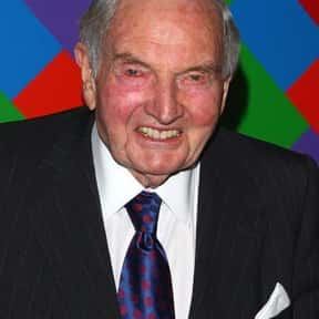 David Rockefeller is listed (or ranked) 25 on the list Famous Columbia University Alumni