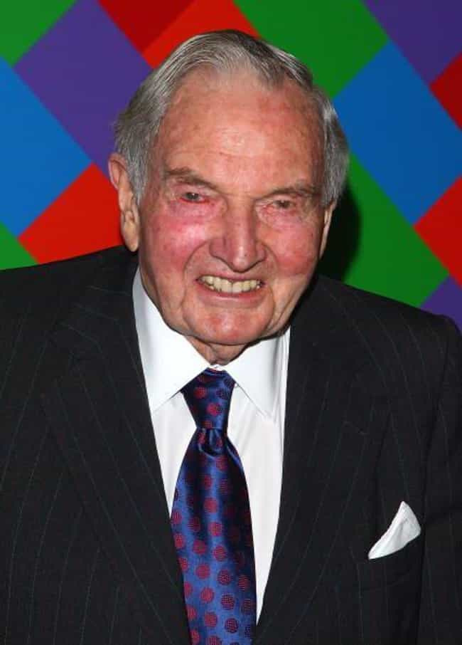 David Rockefeller is listed (or ranked) 2 on the list Famous Male Bankers