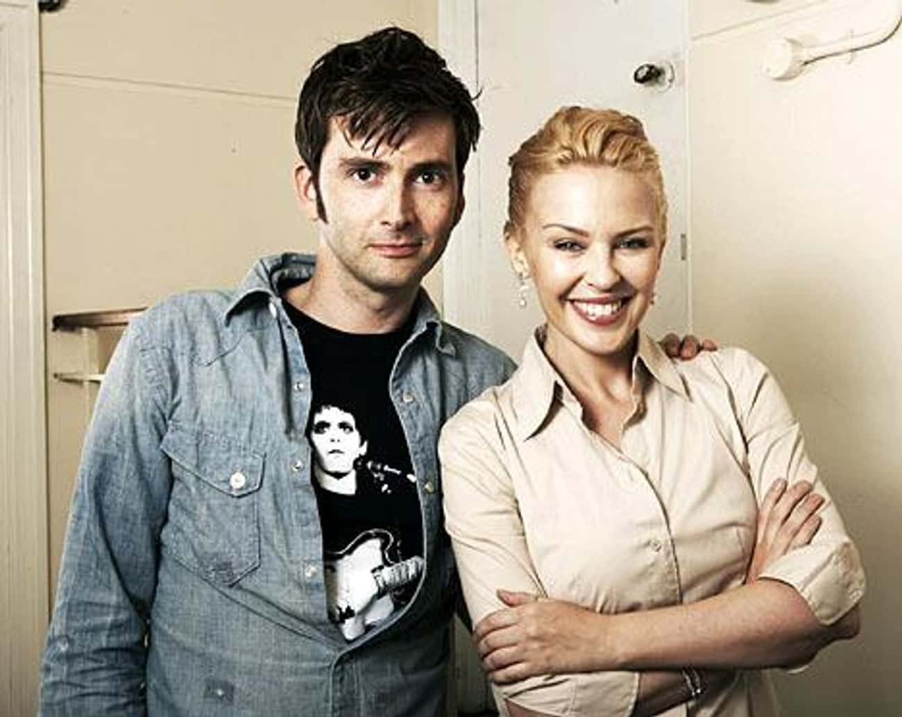 David Tennant is listed (or ranked) 4 on the list Men Who Kylie Minogue Has Dated