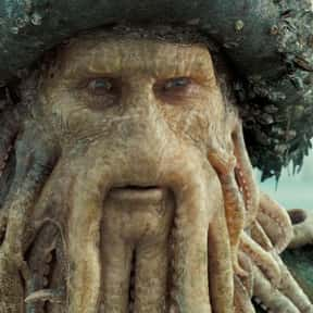 Davy Jones is listed (or ranked) 15 on the list The Greatest Movie Villains Of All Time