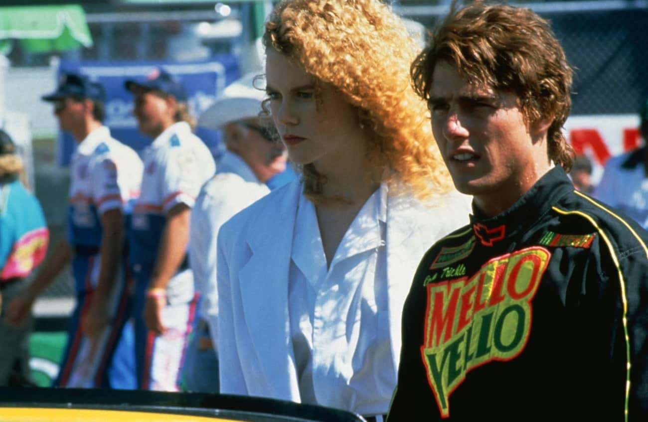 Days of Thunder - Tom Cruise & is listed (or ranked) 3 on the list Movies That Sparked Off-Screen Celebrity Romances