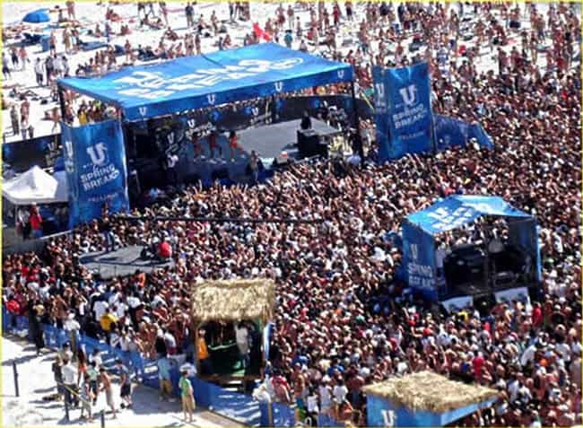 Daytona Beach is listed (or ranked) 4 on the list The Trashiest Spring Break Destinations