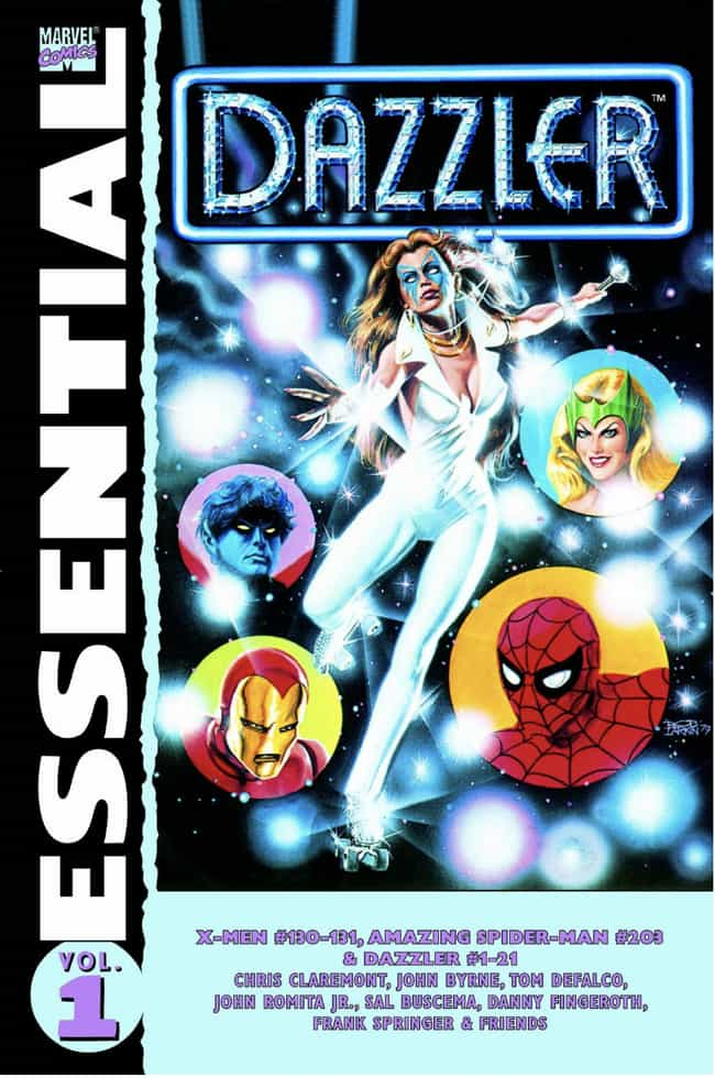 Dazzler is listed (or ranked) 3 on the list The Most Useless Super Powers in Comics
