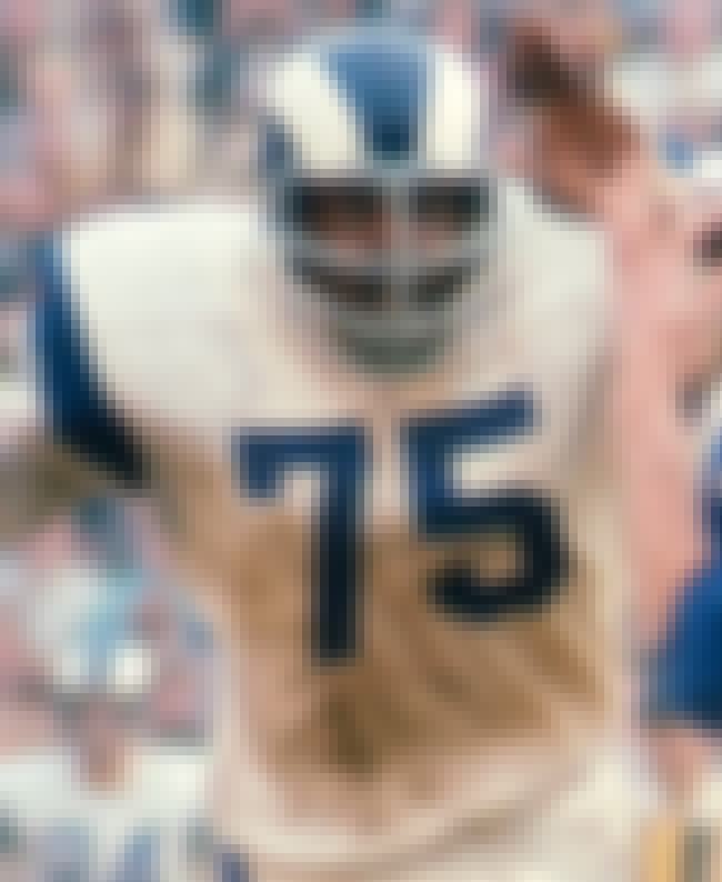 Deacon Jones is listed (or ranked) 3 on the list All Time Greatest NFL Defensive Ends