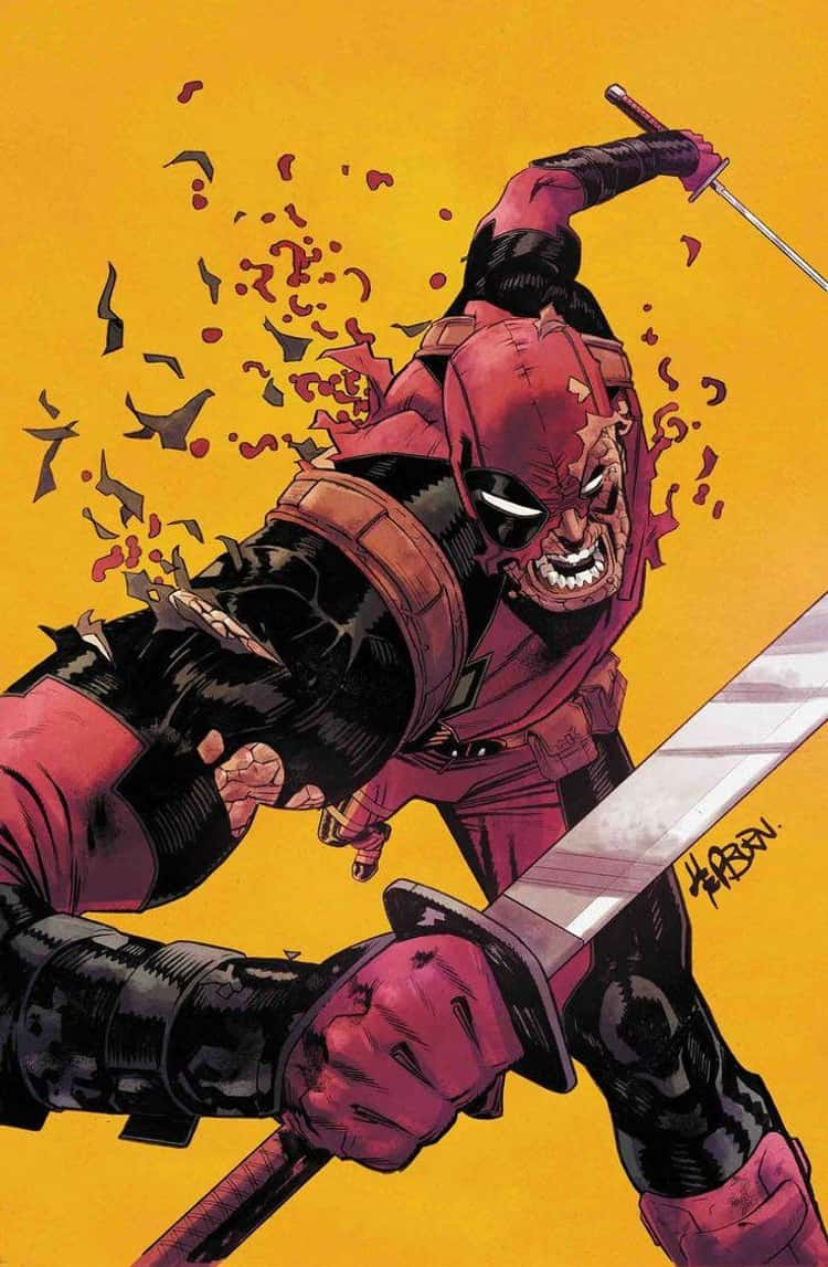 Deadpool Is A Human Being With Wolverine's DNA Grafted Onto Him
