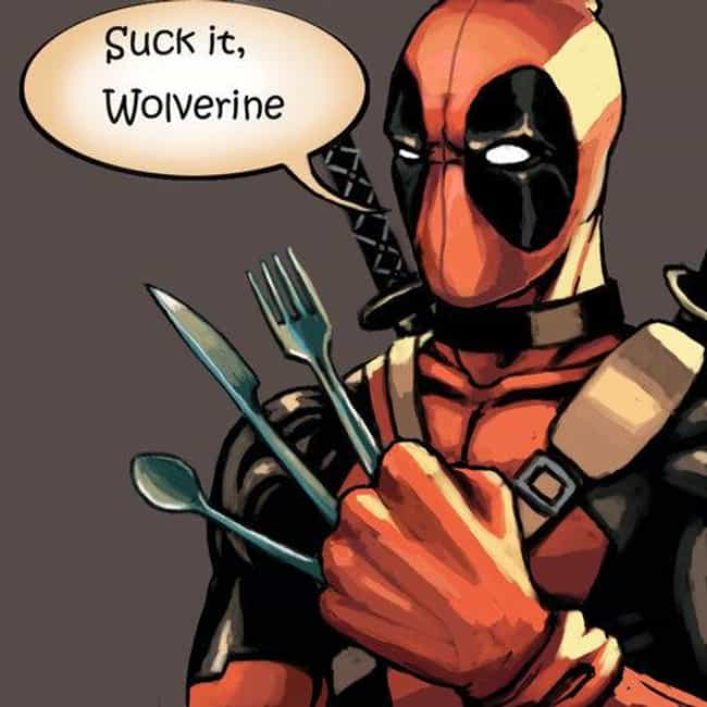 Deadpool is listed (or ranked) 1 on the list 22 Comic Book Characters From Canada