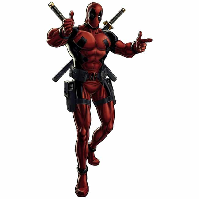 Deadpool is listed (or ranked) 4 on the list The Greatest Masked Characters