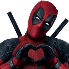 Deadpool is listed (or ranked) 1 on the list The Most Likable Movie Antiheroes