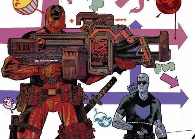 Deadpool is listed (or ranked) 3 on the list The 12 Most Indestructible Comic Book Characters