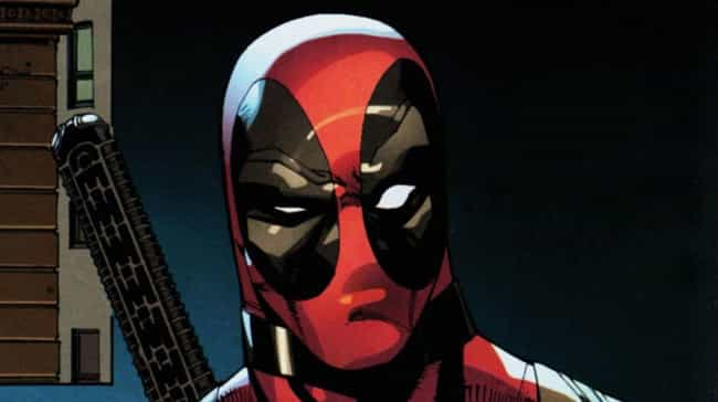 Deadpool is listed (or ranked) 3 on the list Mystique's Long and (Shape) Shifting List of Lovers