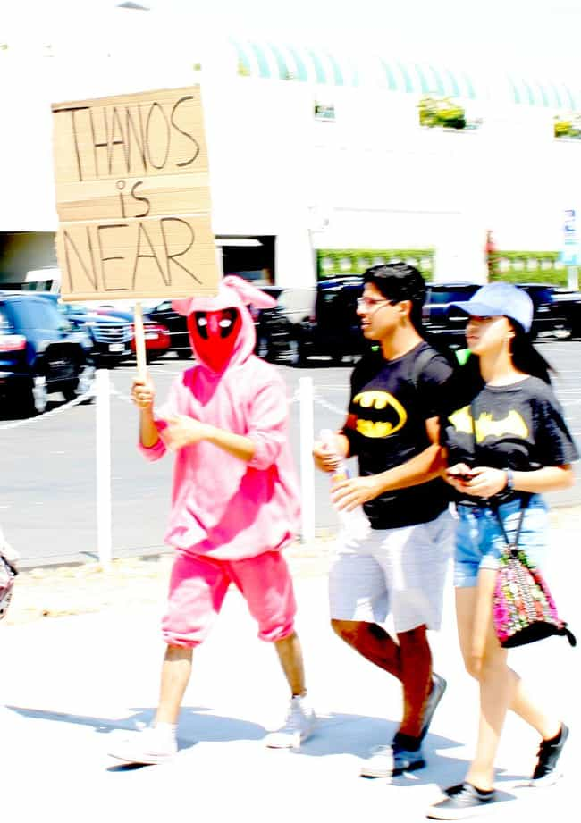 Deadpool is listed (or ranked) 1 on the list We Took Photos Of Common Cosplays Everyone Did At SDCC 2017