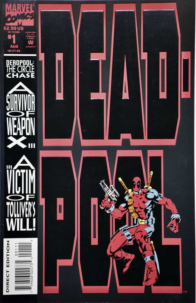 Deadpool is listed (or ranked) 2 on the list 18 Comic Book Characters From Canada