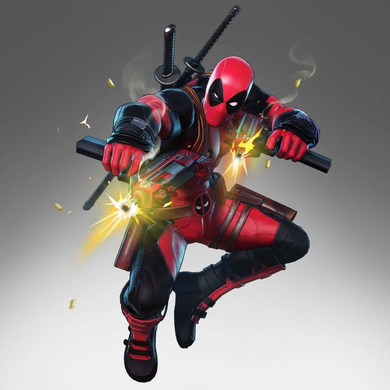 Deadpool is listed (or ranked) 4 on the list All 'Marvel Ultimate Alliance 3' Characters, Ranked