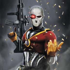Deadshot is listed (or ranked) 25 on the list The Best Characters from the Batman Universe