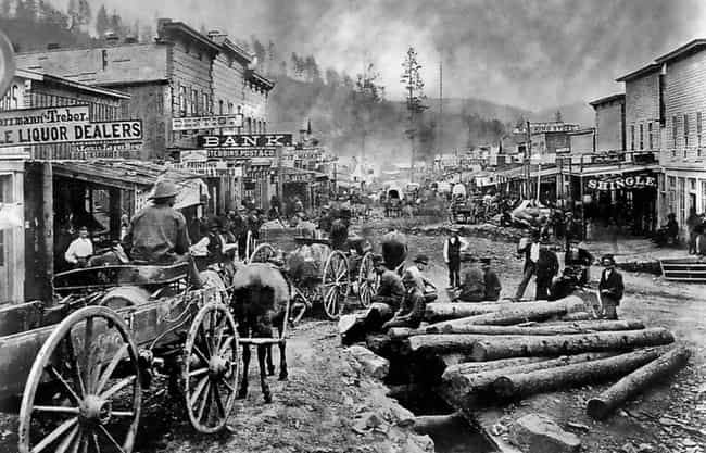 Deadwood is listed (or ranked) 8 on the list 17 Photos Of Historical Landmarks Like You Probably Haven't Seen Them Before