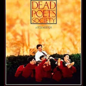 Dead Poets Society is listed (or ranked) 17 on the list The Top Tearjerker Movies That Make Men Cry