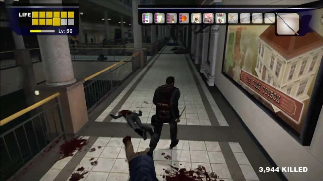 'Dead Rising' And &#34 is listed (or ranked) 4 on the list Insane Achievements In Video Games That Take Forever To Complete