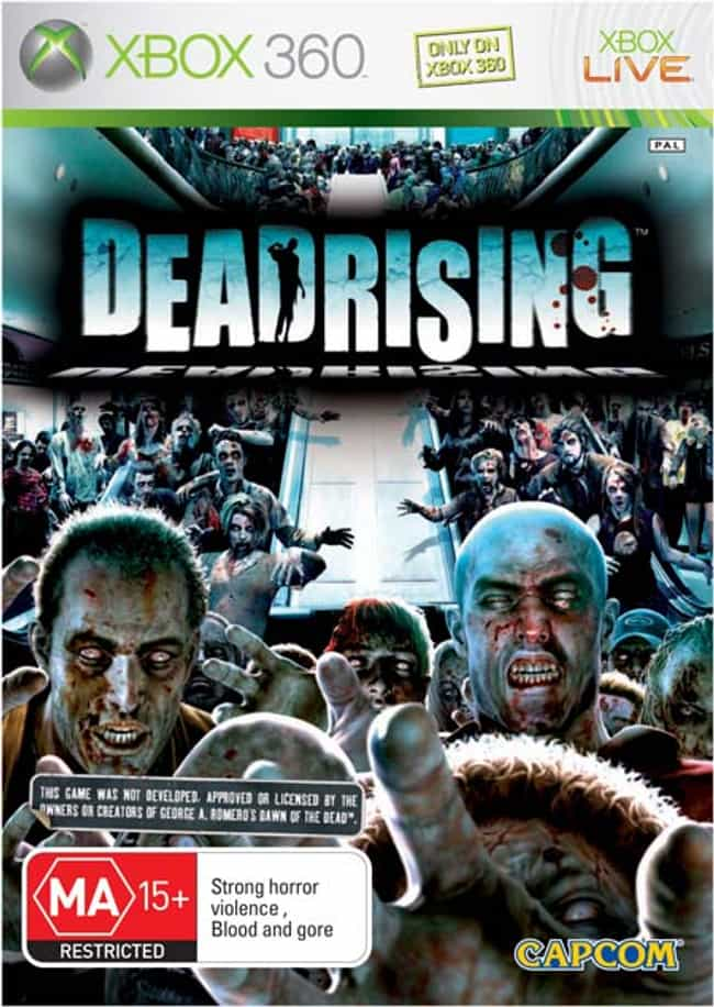 Dead Rising is listed (or ranked) 4 on the list The Bloodiest Video Games of All Time