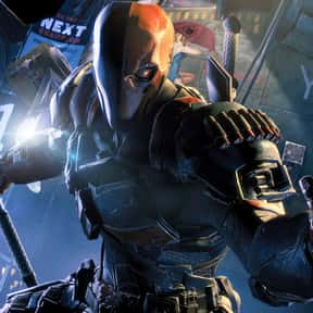 Deathstroke is listed (or ranked) 2 on the list Comic Book Characters We Want to See on Film