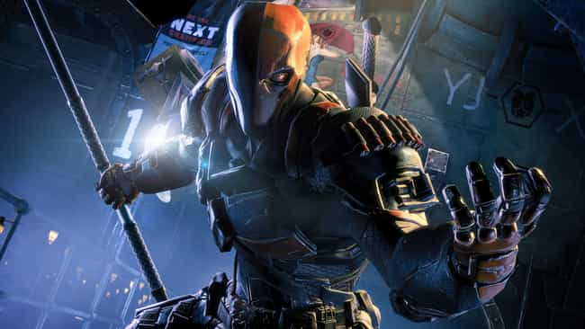 Deathstroke is listed (or ranked) 4 on the list The Best Archenemies in DC Comics