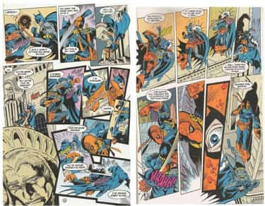 Deathstroke Beats Batman One o is listed (or ranked) 2 on the list 14 Times Batman Got the Crap Kicked Out of Him