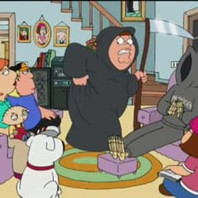 Death Is a Bitch is listed (or ranked) 10 on the list The Best 'Family Guy' Episodes of All Time