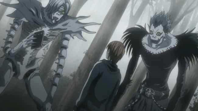 Death Note is listed (or ranked) 4 on the list 15 Anime With Unusual Takes On The Afterlife