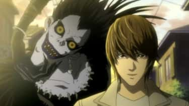 The Shinigami In 'Death Note'  is listed (or ranked) 1 on the list Real Mythology Behind Your Favorite Anime