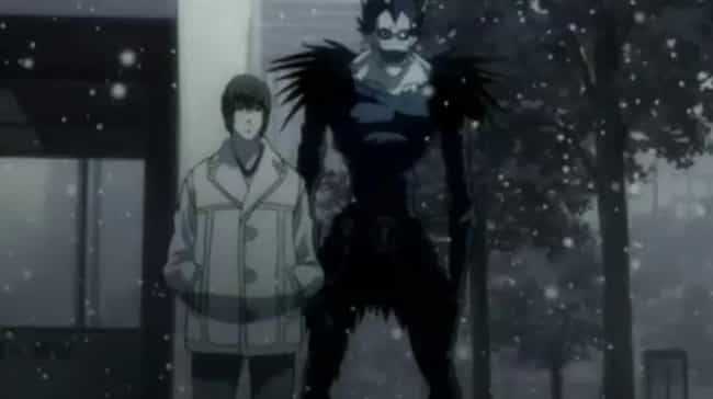 Death Note is listed (or ranked) 4 on the list 14 Good Anime Recommendations For Atheists