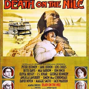 Death on the Nile is listed (or ranked) 20 on the list The Best Mystery Movies