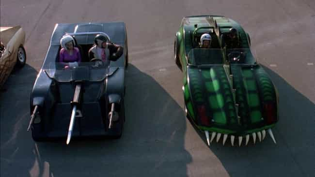 Death Race 2000 is listed (or ranked) 8 on the list Old Futuristic Movies Whose Futures We've Passed