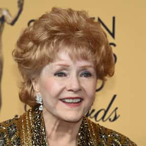 Debbie Reynolds is listed (or ranked) 17 on the list TV Actors from Texas