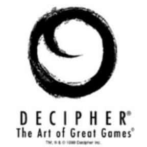 Decipher, Inc. is listed (or ranked) 6 on the list List of Board Game Companies