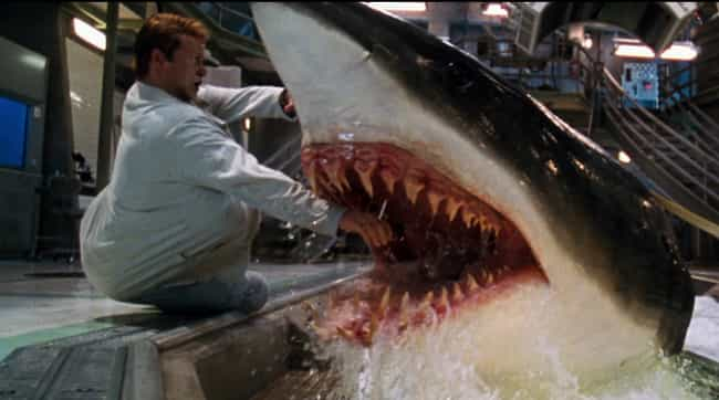 Deep Blue Sea is listed (or ranked) 2 on the list Pretty Good Horror Movies That Will Make You Afraid To Go In The Water