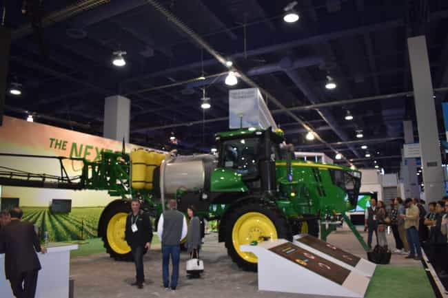John Deere is listed (or ranked) 1 on the list 8 CES 2020 Booths That Blew Us Away