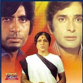 Deewaar is listed (or ranked) 1 on the list The Best Amitabh Bachchan Movies