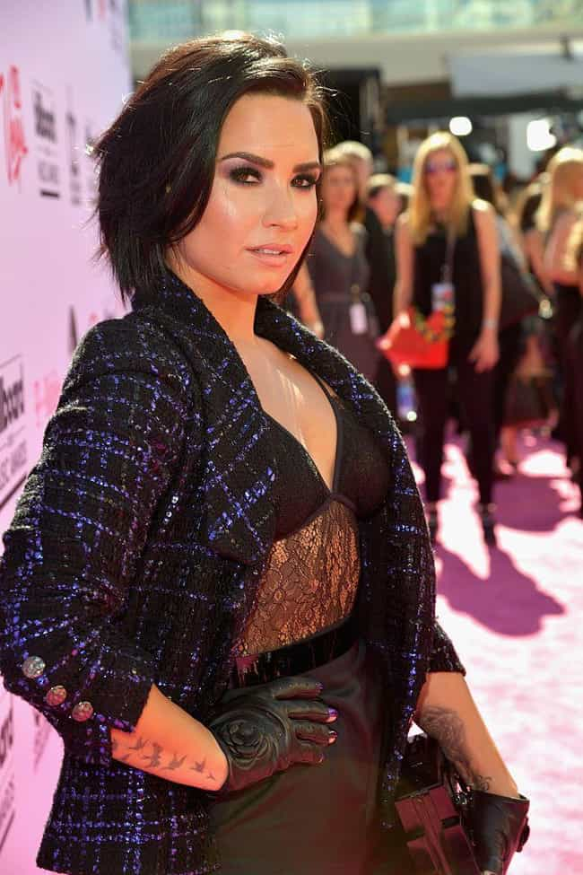 Demi Lovato is listed (or ranked) 7 on the list Famous Hispanic Actresses