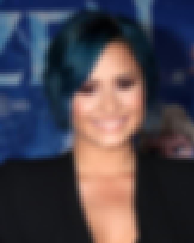 Demi Lovato is listed (or ranked) 4 on the list List of Famous Bisexual People