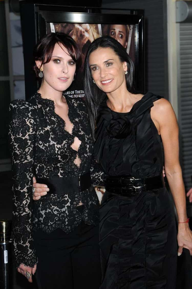 Demi Moore And Her Daughter Rumer