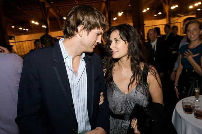 Demi Moore is listed (or ranked) 3 on the list Women Who Ashton Kutcher Has Dated