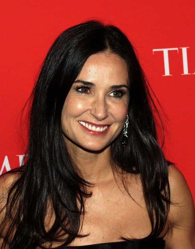 Demi Moore is listed (or ranked) 1 on the list 26 Celebrities Who Do P90X