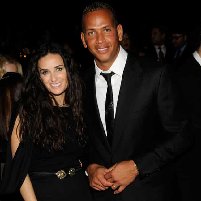 Demi Moore is listed (or ranked) 3 on the list Alex Rodriguez's Loves & Hookups