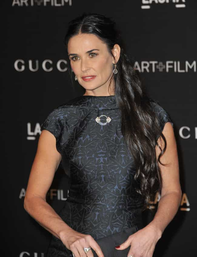Demi Moore is listed (or ranked) 3 on the list 7 Celebrities Who Went to Cirque Lodge Rehab